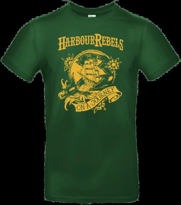 "Harbour Rebels T-Shirt ""On A Journey"" grün"