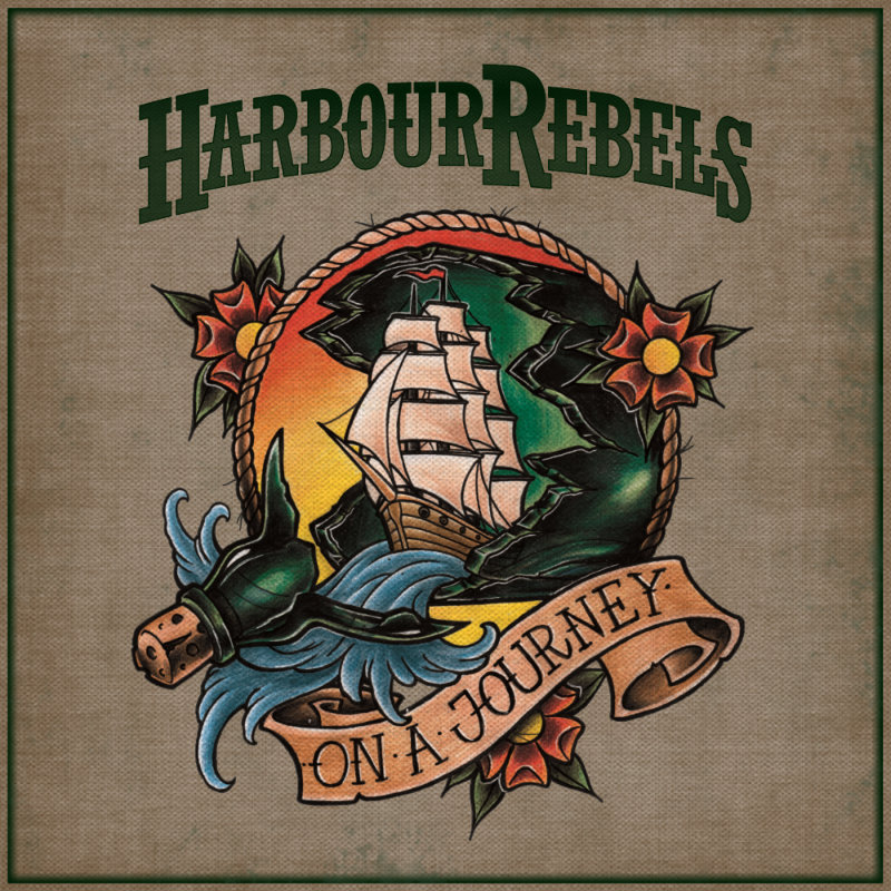 "Harbour Rebels 10""-EP ""On A Journey"" (Vinyl + Download Code)"